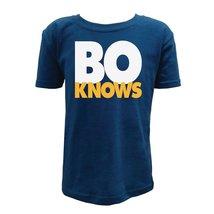 UGP Campus Apparel Bo Knows Youth Boys T Shirt - Medium - Navy - $16.49