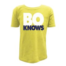 UGP Campus Apparel Bo Knows Youth Boys T Shirt - Small - Maize - $16.49