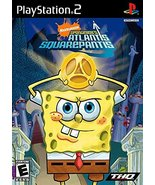 Spongebob Squarepants: Atlantis Squarepantis [PlayStation2] - $5.85