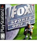 Fox Sports Golf '99 (Playstation) [PlayStation] - $4.93