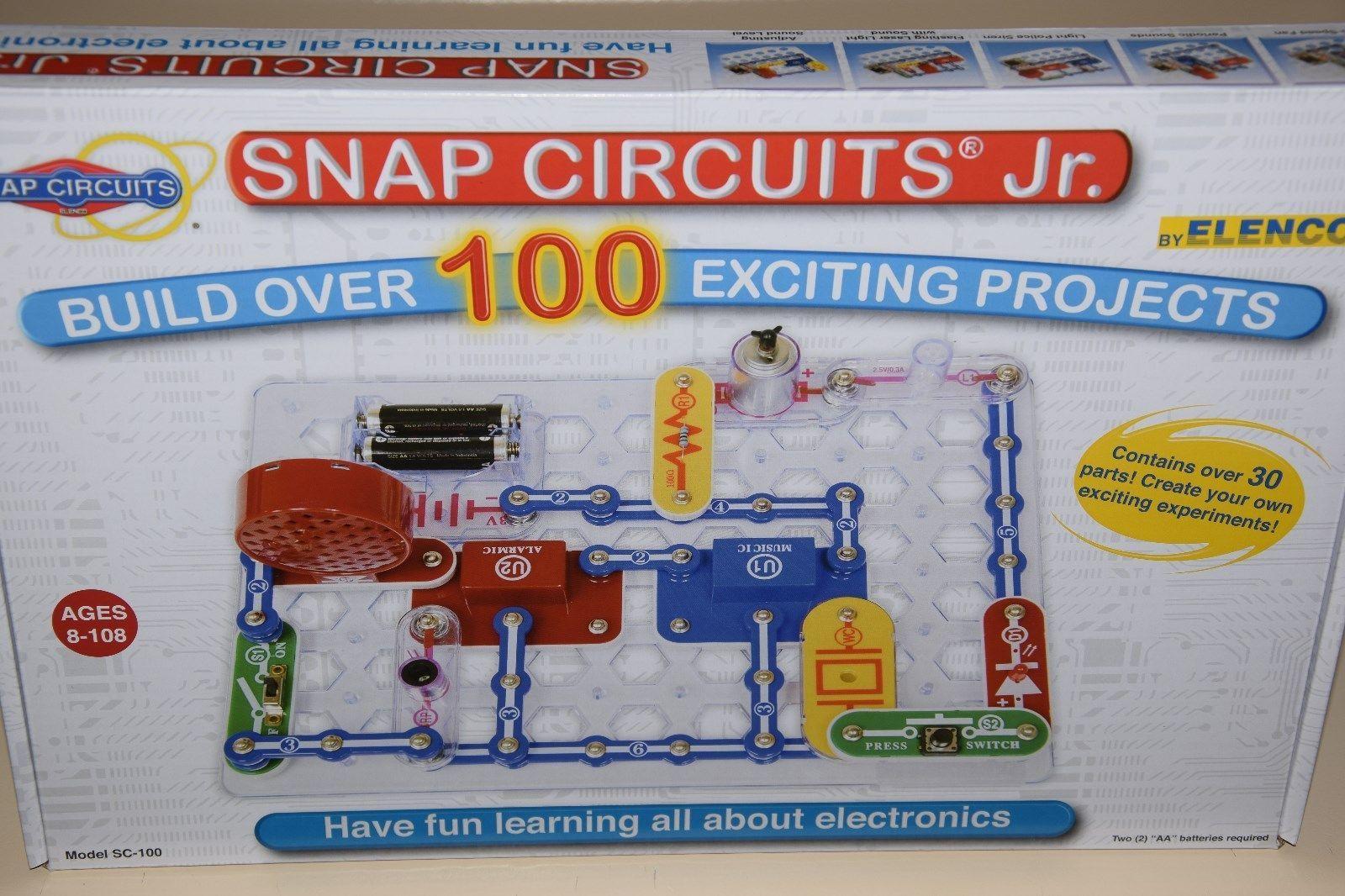 Snap Circuits Jr Sc 100 Electronics And Similar Items Elenco Scs185 Sound S L1600