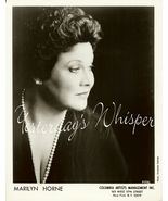 Marilyn HORNE Opera DAVIES Hall ORG Management PHOTO - $9.99