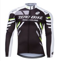 ZEROBIKE Men's Breathable Long Sleeve Cycling Jersey Fast Drying Mesh Cycling... - $18.80