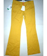 New Womens 8 NWT Designer Flare Leg Bell Tall See by Chloe Yellow Pants ... - $865.00