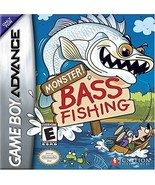 Monster Bass Fishing [Game Boy Advance] - $4.94