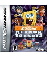 Nicktoons: Attack of the Toybots [Game Boy Advance] - $4.52