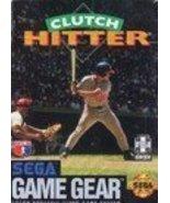 Clutch Hitter - Sega Game Gear [Sega Game Gear] - $4.95