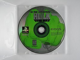 The Incredible Hulk [PlayStation] - $4.95