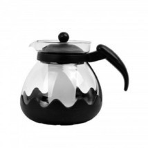 Tea Infuser Teapot Kettle Attractive Modern Glass Perforated Infuser Bre... - £11.44 GBP