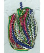 Narrow Metallic Trim Assortment Craft Ornaments... - $4.50