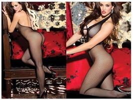 Women Fishnet Bodysuit Body stocking Sexy Lingerie Nightwear Fetish Exot... - $19.80
