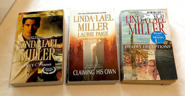 Linda Lael Miller  Only Forever Claiming HIs Own  Deadly Deceptions - $4.99