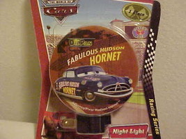 Night Light New Disney Pixar Cars Hudson Hornet Rotary Shade Child Safety - $6.88