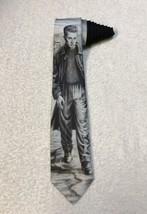 Vintage 1991 Ralph Marlin James D EAN Novelty Necktie Tie - $14.84