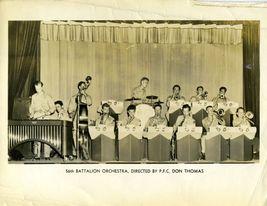 56th BATTALION Orchestra Org Publicity Promo PHOTO E615 - $9.99