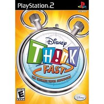 Disney Think Fast - The Ultimate Trivia Showdown (Game Only) [PlayStation2] - $4.46