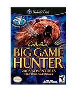 Cabela's Big Game Hunter 2005 Adventure [GameCube] - $5.91