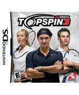 Top Spin 3 - Nintendo DS [Nintendo DS] - $5.30