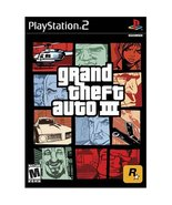 Grand Theft Auto III - PS2 [PlayStation2] - $4.24
