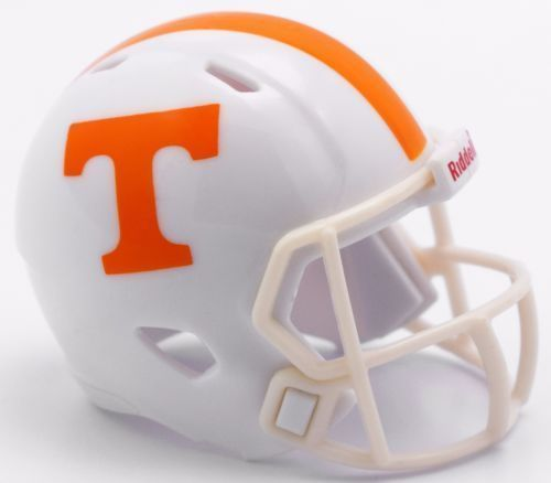 "TENNESSEE VOLUNTEERS SPEED POCKET PRO FOOTBALL HELMET 2"" SIZE  Made By RIDDELL!"