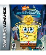 Spongebob Squarepants: Atlantis Squarepantis [Game Boy Advance] - $5.89