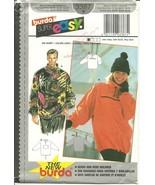 Burda Sewing Pattern 3387 Unisex Pullover Size ... - $9.99
