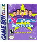 N*Sync: Get to the Show [Game Boy Color] - $3.92