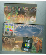 San Diego Zoo Memorabilia Postcard Book  Pin Memo Pad New Christmas Gift - $6.00