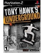 Tony Hawk's Underground [PlayStation2] - $3.75