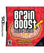 Brain Boost: Beta Wave - Nintendo DS [Nintendo DS] - $2.90