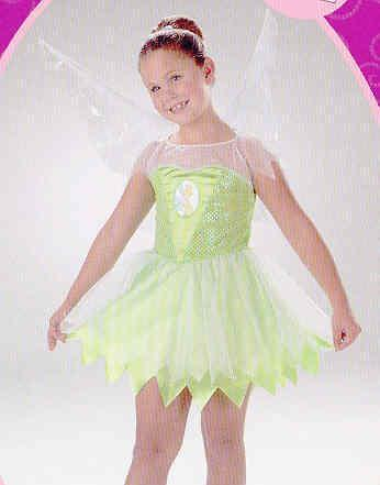 Disney's TINKERBELL 4/6 Childs Costume