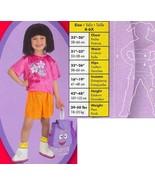 DORA THE EXPLORER STAR CATCHER CSTM 4/6 CHILD'S SZ  - $45.00