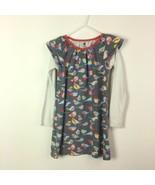 Tea Collection Spatzchen Bird Dress Long Sleeve Girls Size 6 - $16.82