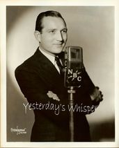 LESTER Lee GRIFFITH NBC Chicago ANNOUNCER ORG PHOTO - $14.99