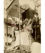 1928 SF CA Columbus DAY Fete Queen ISABELLA ORG PHOTO J683 - $19.99