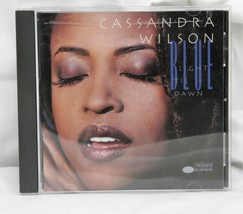 An item in the Music category: Cassandra Wilson: Blue Light 'til Dawn  CD