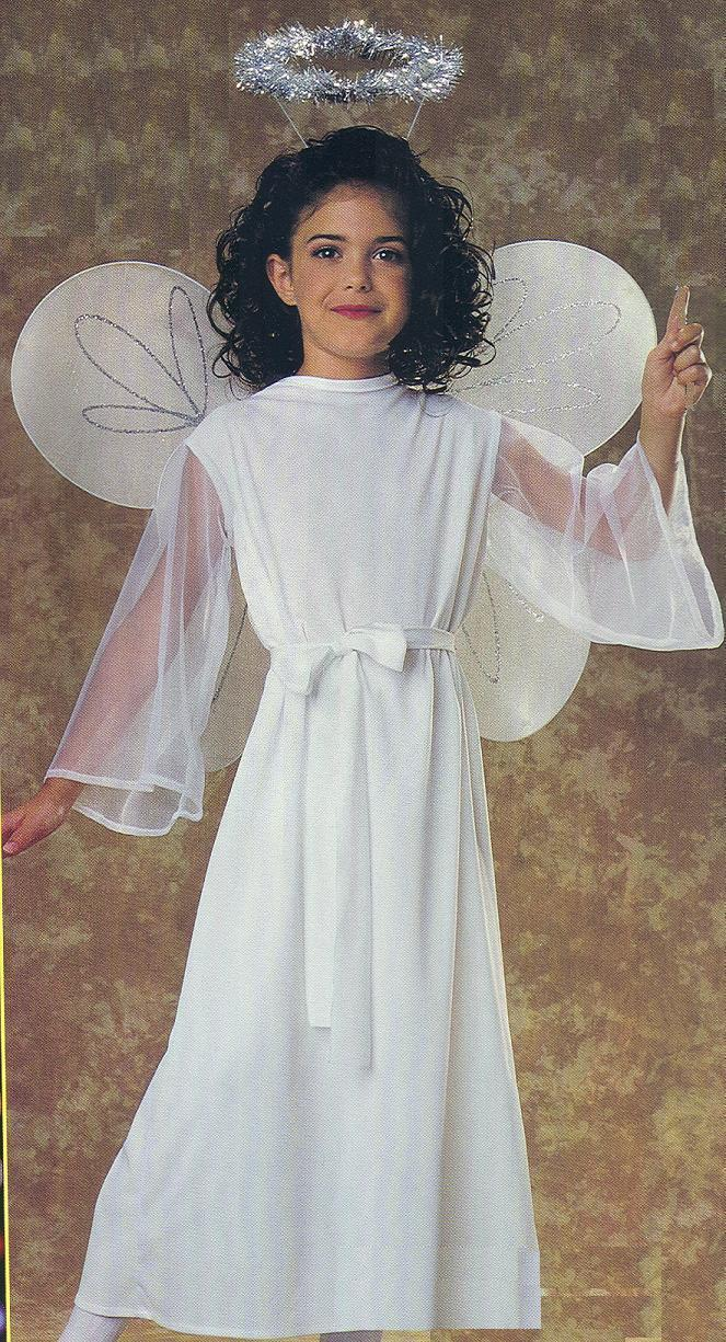 ANGEL COSTUME 4/6 Childs SIZE