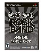 Rock Band: Metal Track Pack - PlayStation 2 [Pl... - $5.34