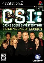 CSI: 3 Dimensions of Murder - PlayStation 2 [Pl... - $4.37