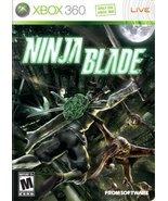 Ninja Blade - Xbox 360 [Xbox 360] - $9.43