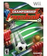 Championship Foosball - Nintendo Wii [Nintendo ... - $4.92