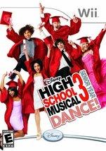 Disney High School Musical 3: Senior Year Dance! - Nintendo Wii [Nintend... - $3.55