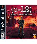 C-12 Final Resistance [PlayStation] - $4.74