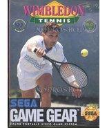 Wimbledon Tennis - Sega Game Gear [Sega Game Gear] - $5.17