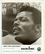 Deacon JONES ORG Management Promo PHOTO F846 - $14.99