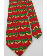 Keith Daniels Holiday Christmas Red Tie Green G... - $11.00