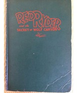 """""""RED RYDER and the SECRET of WOLF CANYON"""", BY FRED HARMON, COPYRIGHT 194... - $9.45"""