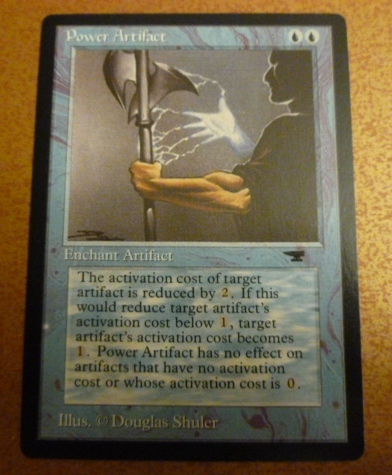 Magic the Gathering Power Artifact - High Quality Proxy
