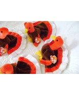 Ty Genuine Gobbles the Turkey Beanie Babies for Thanksgiving - $25.00