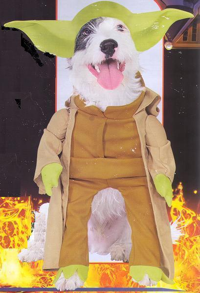 YODA LARGE PET COSTUME